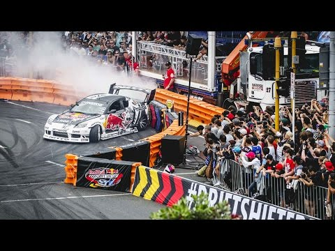 1200hp Drifting In The Streets Of Auckland  - Red Bull Drift Shifters video
