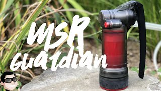 MSR Guardian Water Filter/Purifier Review