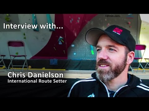Chris Danielson - Route setting in the World Cups