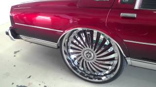 Candy Red Box Chevy On 8s Stuntfest