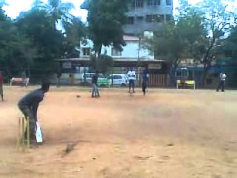 master subbu playing Cricket in bangalore.mp4