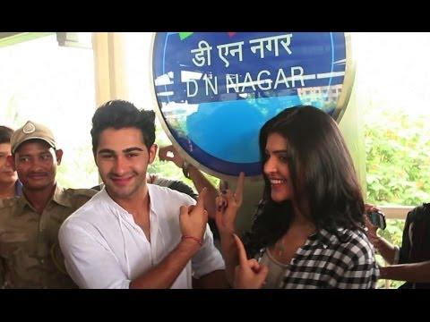 Armaan Jain & Deeksha Seth In The Metro | Lekar Hum Deewana Dil