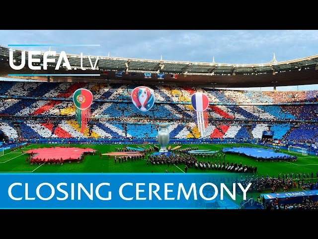 David Guetta at UEFA EURO 2016 closing ceremony
