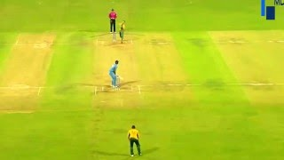 Dhoni's Massive Six at Wankhede!!! India vs SA WCT20 warm up 2016