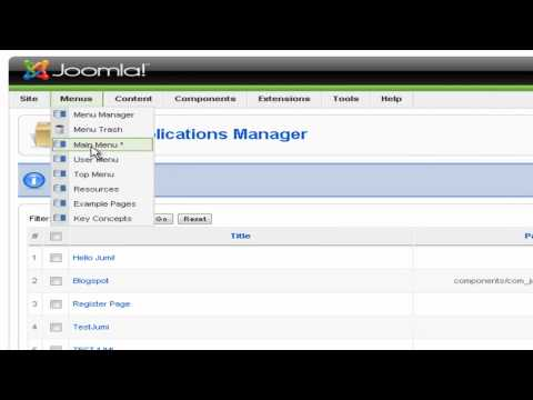 Joomla Tutorial - Making Free Website Part 2 (Watch on 1080 HD)