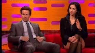 Sarah Silverman tells Mark Wahlberg to shut up on the Graham Norton Show (3:00)