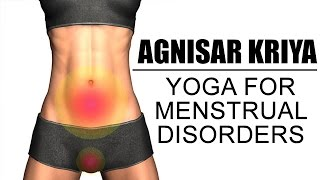 Yoga for Menstrual Disorders - Agnisar Kriya Easy Steps - by Yogacharya Avneesh Tiwari