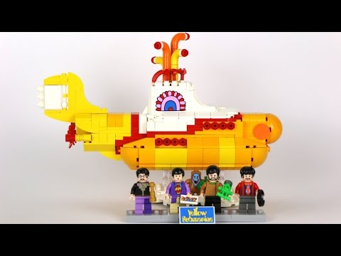 LEGO Ideas The Beatles Yellow Submarine: REVIEW 21306