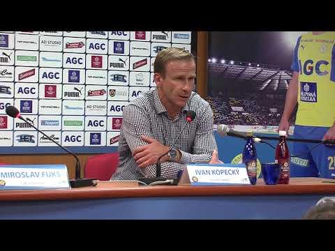 Tisková konference hostujícího trenéra po zápase Teplice - Jihlava (27.8.2017)
