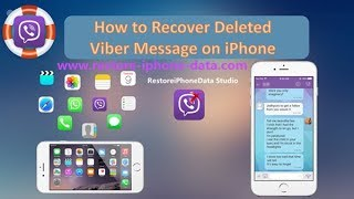 Viber Recovery For iPhone: Recover Deleted Viber Messages on iPhone X/8/7/6S/6