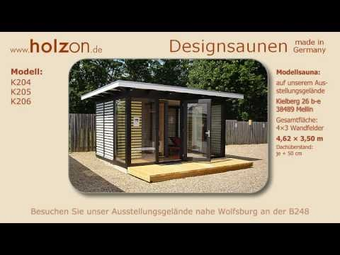 04:49 Gartensauna Selber Bauen / Aussensauna Modern Aus Holz Glas Trespa  Bauen Lassen / Holzon Designsauna