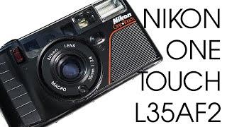 Nikon One Touch L35AF2 35mm Film Vintage Retro Camera