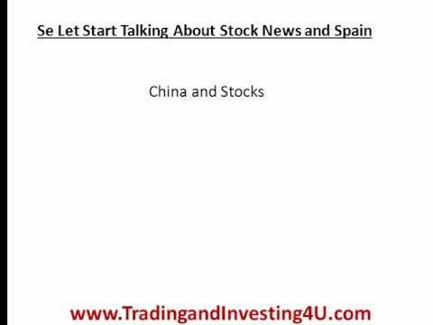Latest Stock Market News and the Spanish Debt Crisis - Whats Happening in Europe?