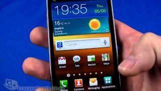 Samsung Galaxy S II unboxing & demo video