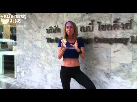 Freelee Banana Girl Weight Loss Tips When Flying