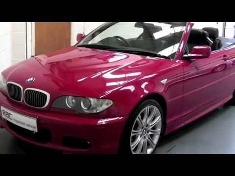 BMW 320CI M SPORT CABRIOLET OFFERED FOR SALE AT PERFORMANCE DIRECT BRISTOL.