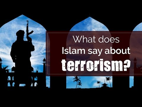 What does Islam say about terrorism? | spiritual awakening