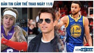 Bản tin Cảm Thể Thao ngày 11/6 | Warriors trở về từ cõi chết, Bieber thách đấu Tom Cruise