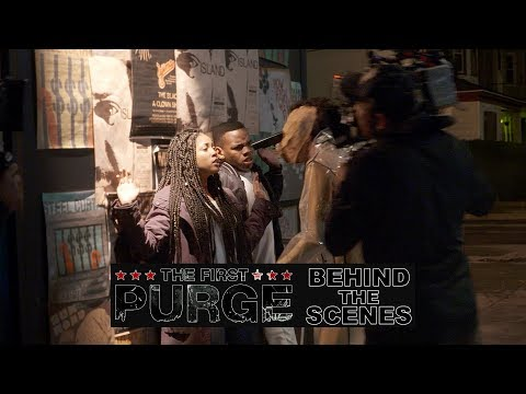 'The First Purge' Behind The Scenes