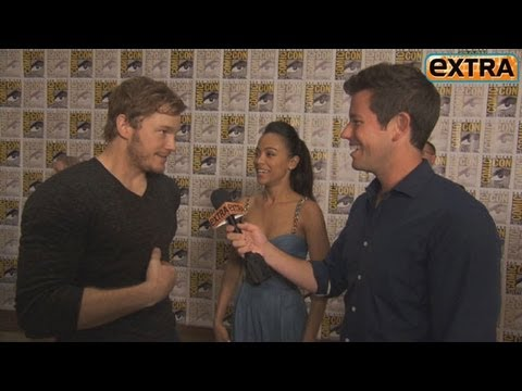 Chris Pratt on 'Guardians of the Galaxy': 'Soft-Core Porn in Space'