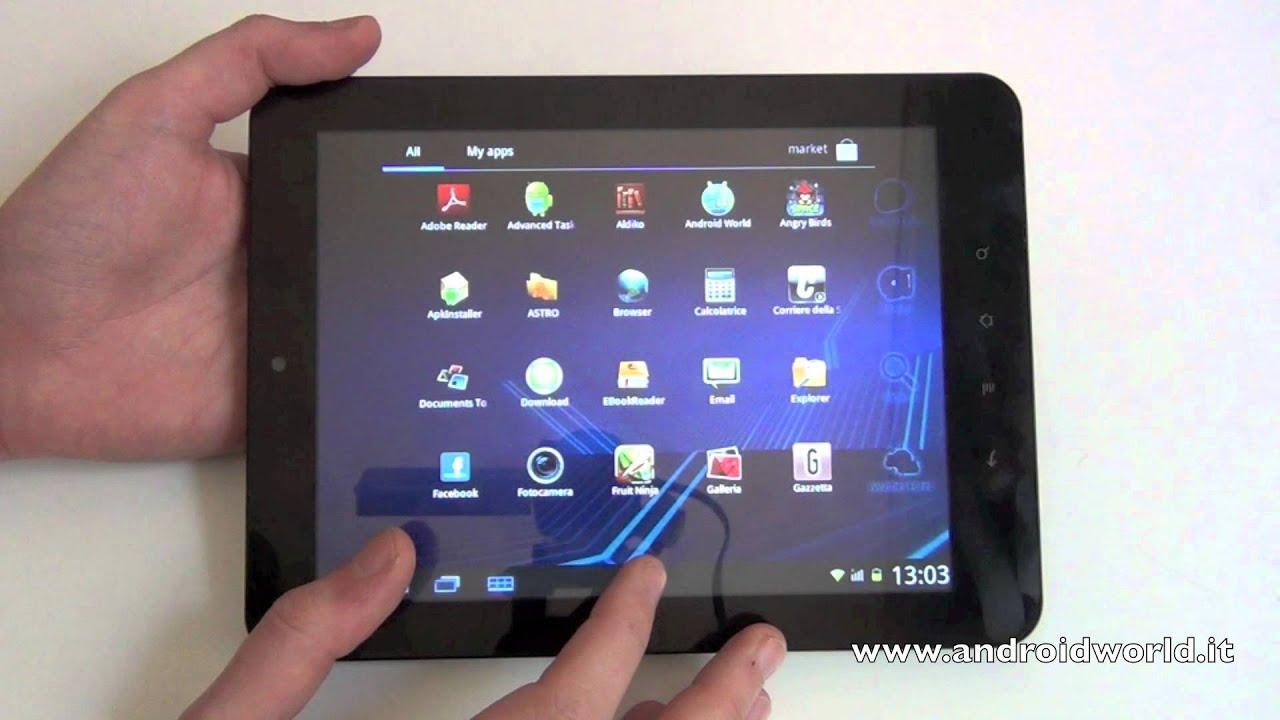 Mediacom SmartPad 820C 3G, recensione completa in italiano ...