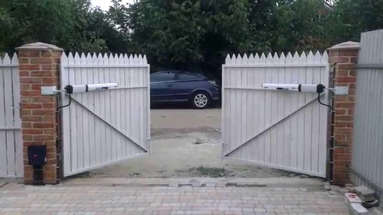 Монтаж автоматики ворот bft видео выдвижные ворота из профнастила иваново