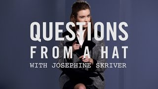 Questions From A Hat: Josephine Skriver for Forever 21