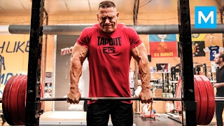 John Cena Strength Workout for WWE Muscle Madness