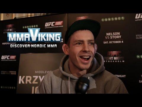 Krzysztof Jotko Sweden 3 Pre Fight Interview