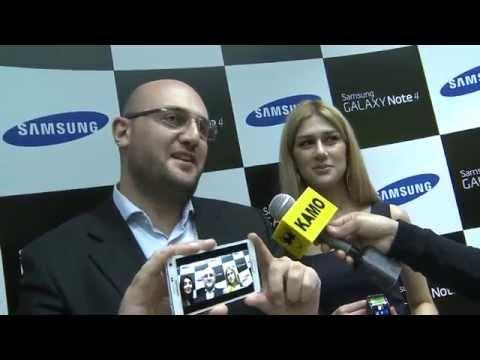 «Samsung Electronics»-ը ներկայացնում է Galaxy Note 4 նոր սմարթֆոնը Հայաստանում