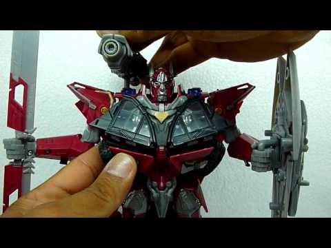 TRANSFORMERS DARK OF THE MOON LEADER CLASS SENTINEL PRIME EN ESPAÑOL 1