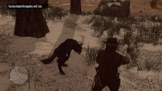 Red Dead Redemption Chasing The Legendary Animals