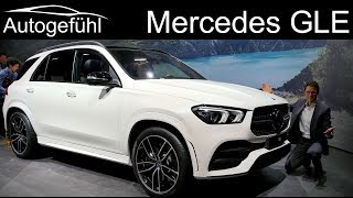 All-new Mercedes GLE Premiere REVIEW AMG-Line Exterior Interior 2019 - Autogefühl