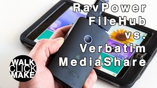 RavPower FileHub vs. Verbatim MediaShare