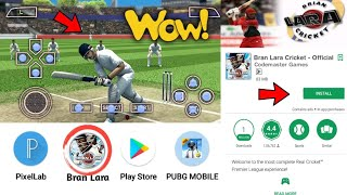 🔥How To Download Brian Lara Official Cricket Game For Android HD Graphics PSP Game | in Hindi