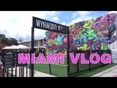 TRAVEL VLOG | MIAMI Pt 5 | UNIVERSITY OF MIAMI TOUR & WYNWOOD WALLS  jemnaturally