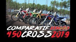 Comparatif 450 cross 2019 © Motoverte.com