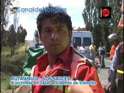 Bomberos Angol clave 10-4 Puente Los Perales