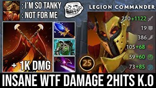 WTF 8 Seconds Duel Aghanim's Scepter LC + 1k Damage 2 Hits K.O by Universe Top Immortal EU DotA 2
