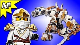 Custom Lego Ninjago Zane's ICE MECH MOC Speed Build