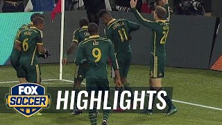 Asprilla doubles Portland's lead vs. FC Dallas | 2015 MLS Highlights