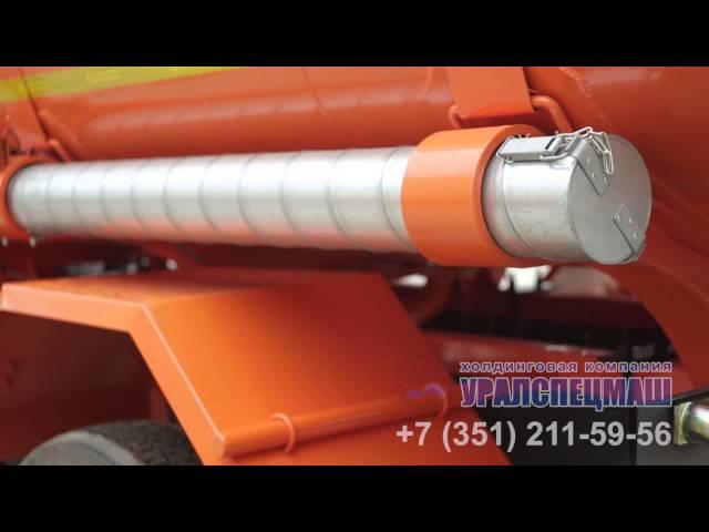 Атвтотопливозаправщик АТЗ- 8,5 м³ на шасси Камаз 43253, производство ООО ХК Уралспецмаш
