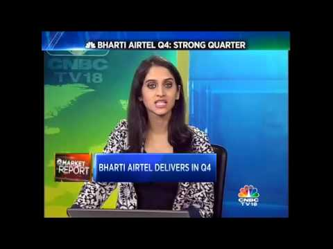#EarningsMinute Bharti Airtel Registers Strong Q4, FY16
