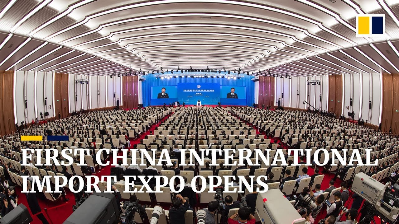 The first China International Import Expo (CIIE) opens