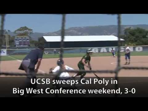 Softball: 5/6: UCSB Sweeps Cal Poly in Big West Weekend, 3-0