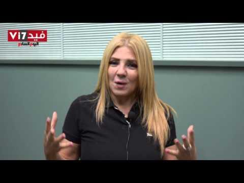 بالفيديو الفنانة ندى بسيونى الجيش المصرى عبر بنا فى أكتوبر 73 و30 يونيو