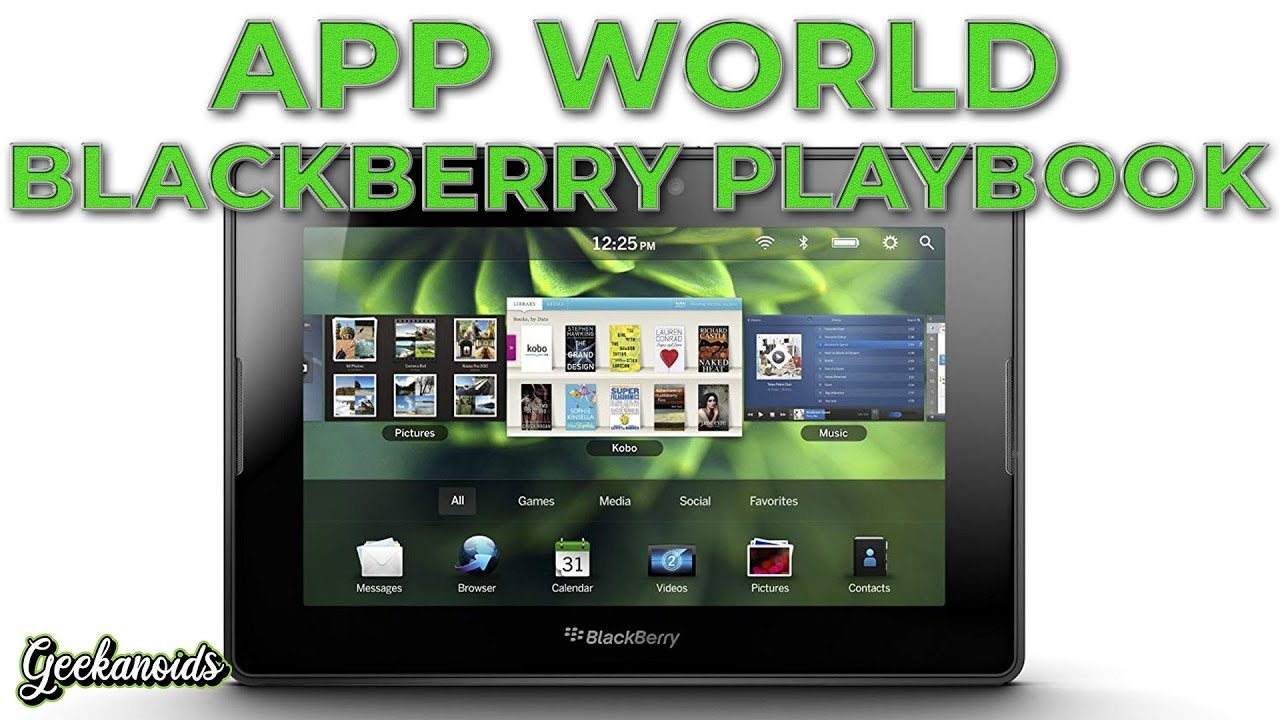android app store for blackberry playbook common