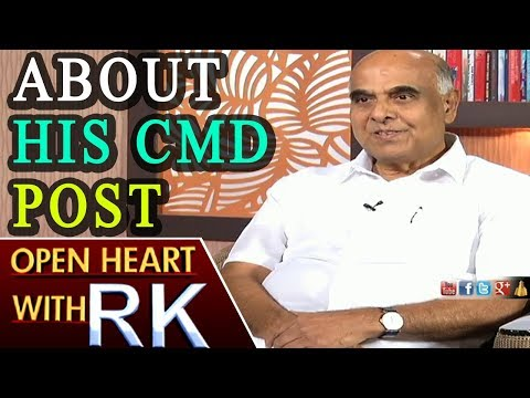 Telangana Transco and Genco CMD Prabhakar Rao About His CMD Post | Open Heart with RK