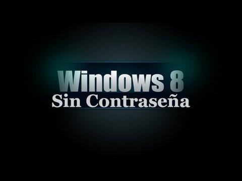 Desactivar Quitar Contraseña Inicio de sesión automático Windows 8