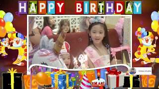 Selamat ulang tahun Cessa ke 7 ☺☺ Happy Birthday Cessa 7th UNICORN CAKE  ☺☺ PIZZA HUT